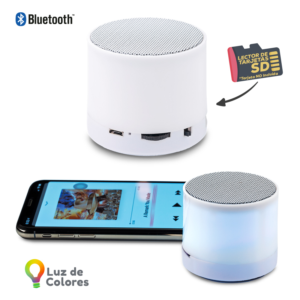 Mini Speaker Bluetooth Rainbow NUEVO