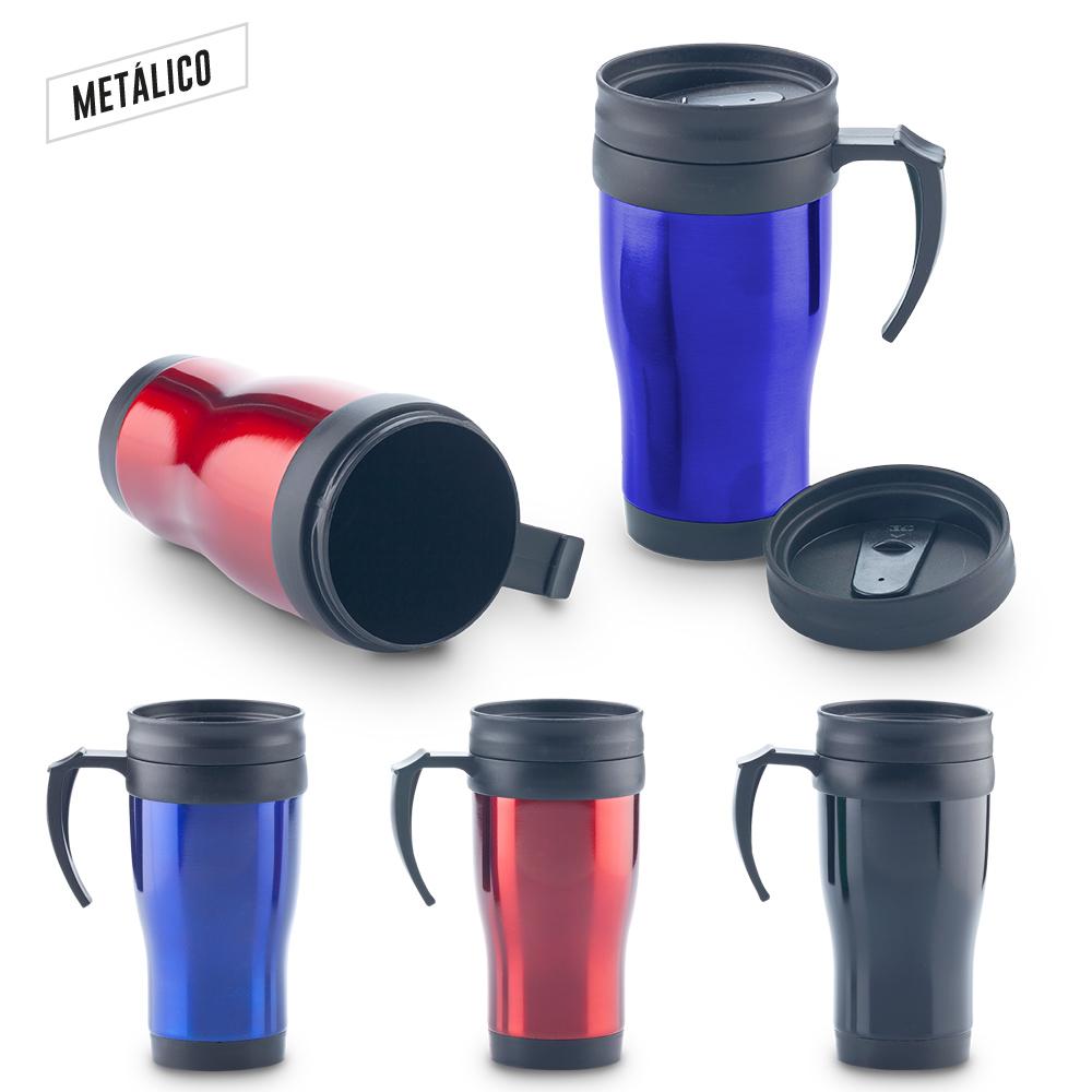 Mug Metalico Quest 450ml NUEVO