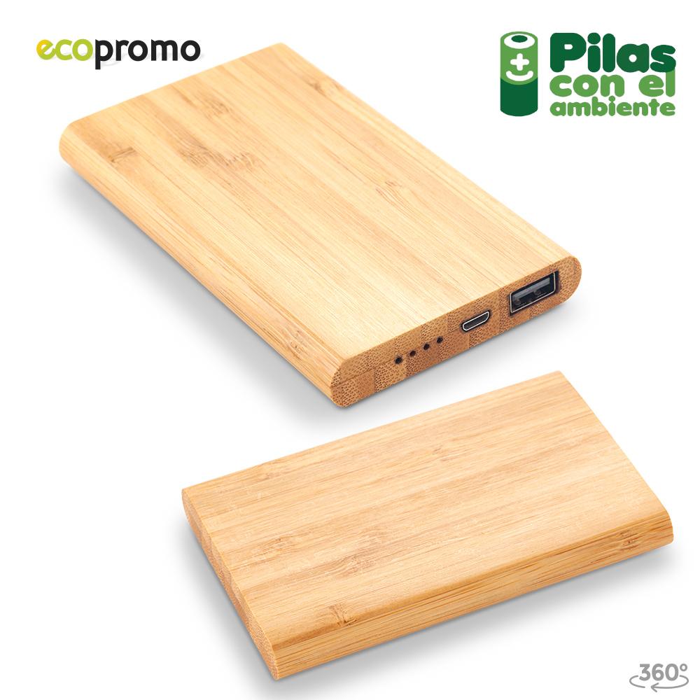 Pila Recargable en Bamboo Nipax 5000mAh NUEVO