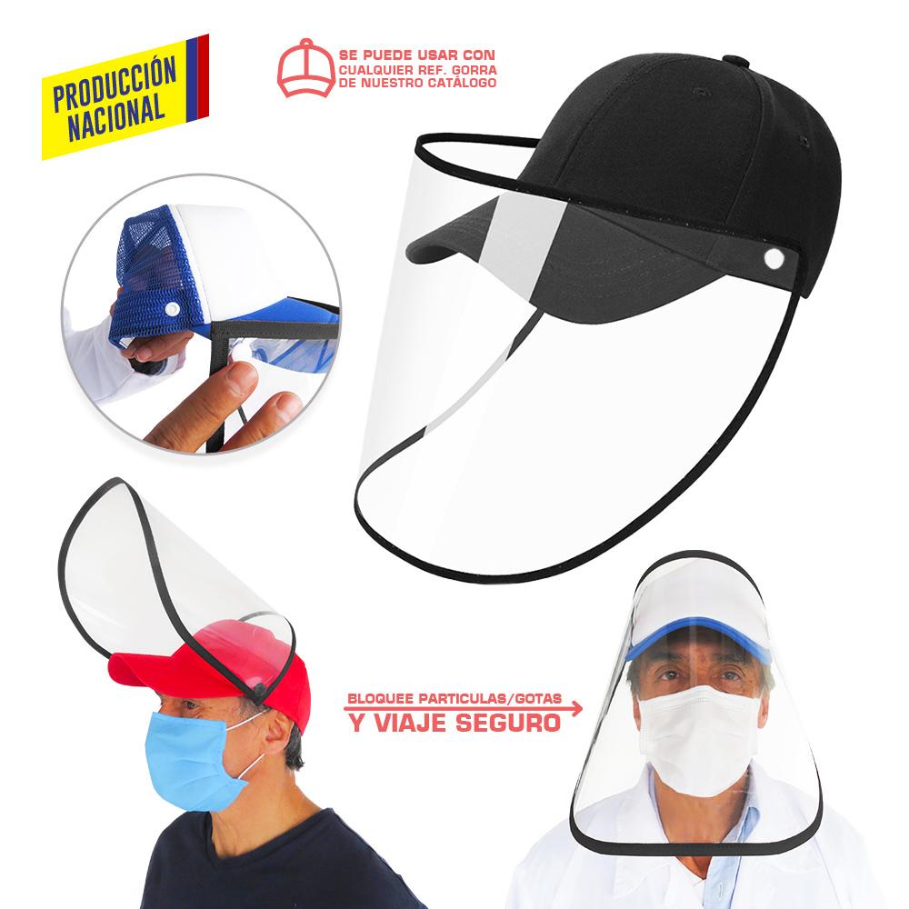 Careta Facial Para Gorra - Producción Nacional NUEVO PRECIO NETO
