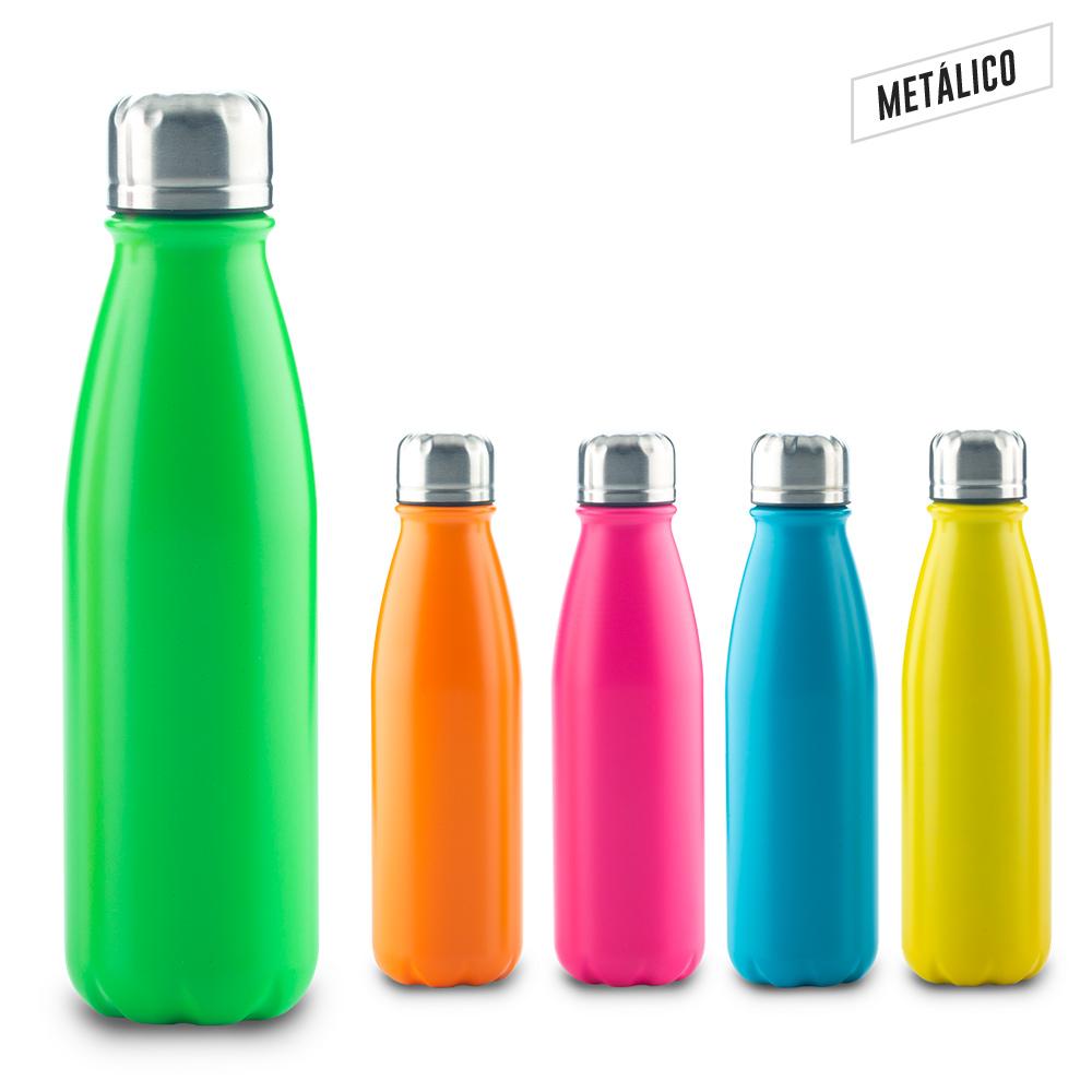 Botilito Metalico Hans Neón 600ml NUEVO