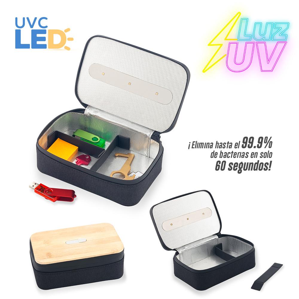 Organizador Multiusos con Esterilizador UVC LED NUEVO