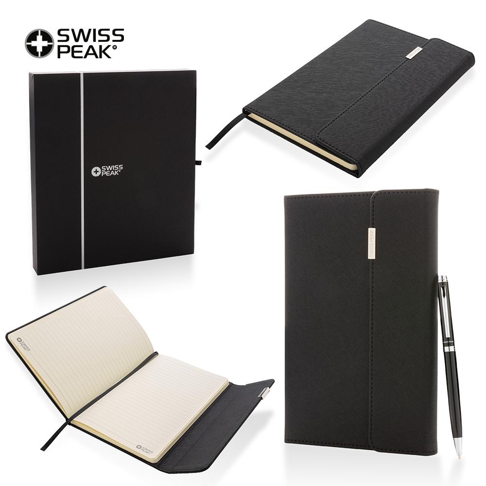 Set de Boligrafo y Libreta Swisspeak Lux