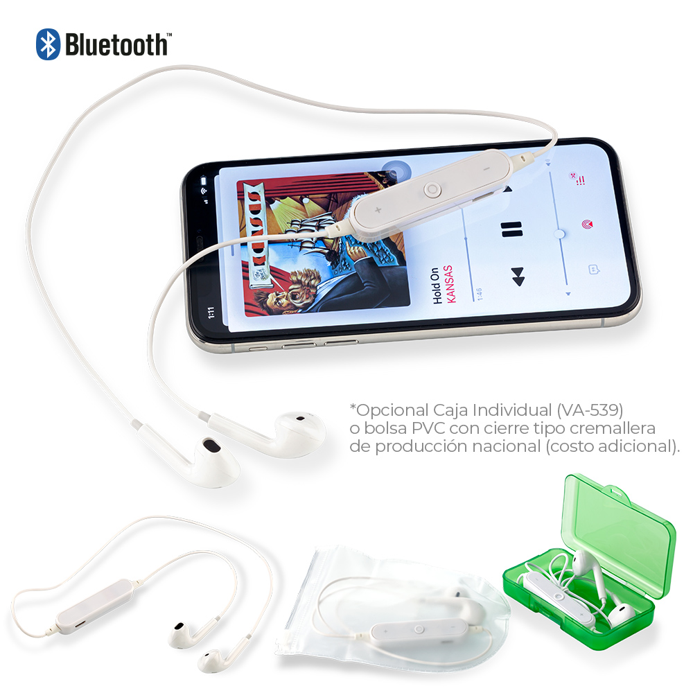 Audifonos Bluetooth Fresh NUEVO
