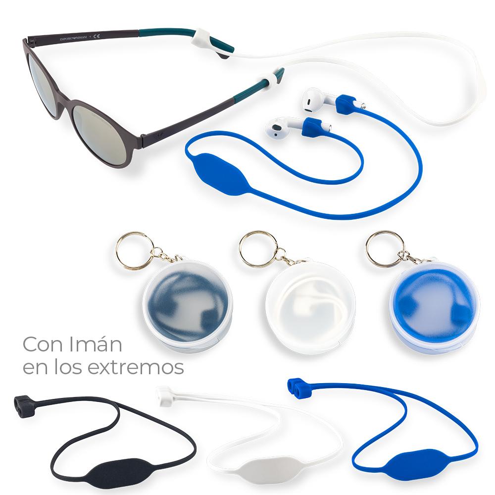Accesorio en Silicona Para Gafas y Audifonos NUEVO