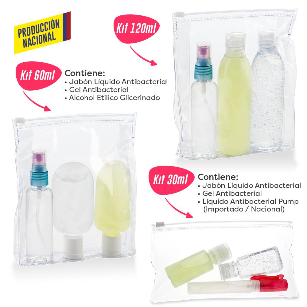 Kit de Bioseguridad Personal - Produccion Nacional PRECIO NETO