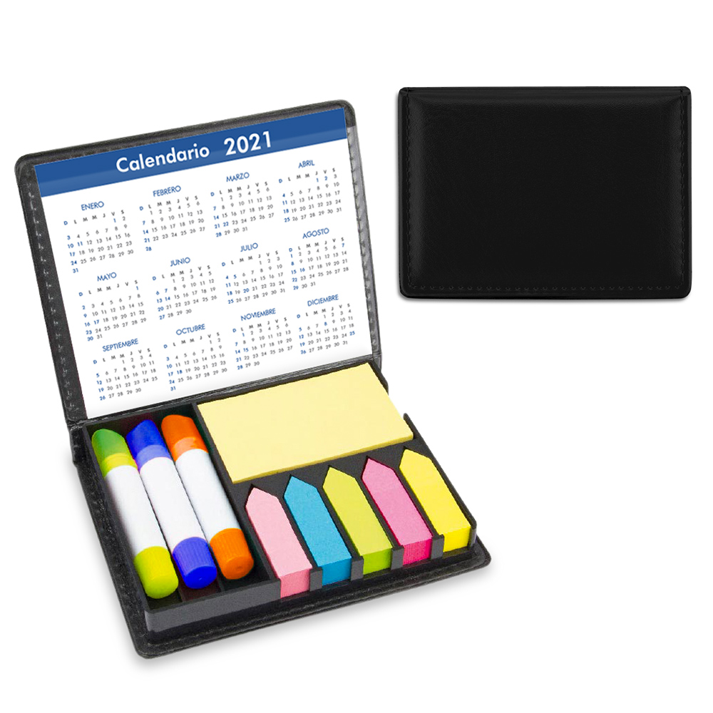 Set Escritorio PVC Stickies y Resaltadores Magicos