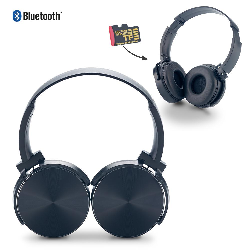 Audifonos Bluetooth DJ II con Lector TF NUEVO