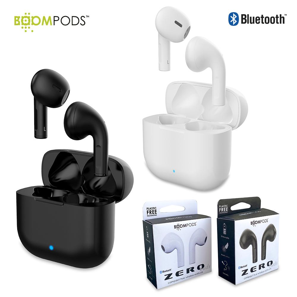 Audífonos Bluetooth TWS Zero Buds Boompods NUEVO PRECIO NETO