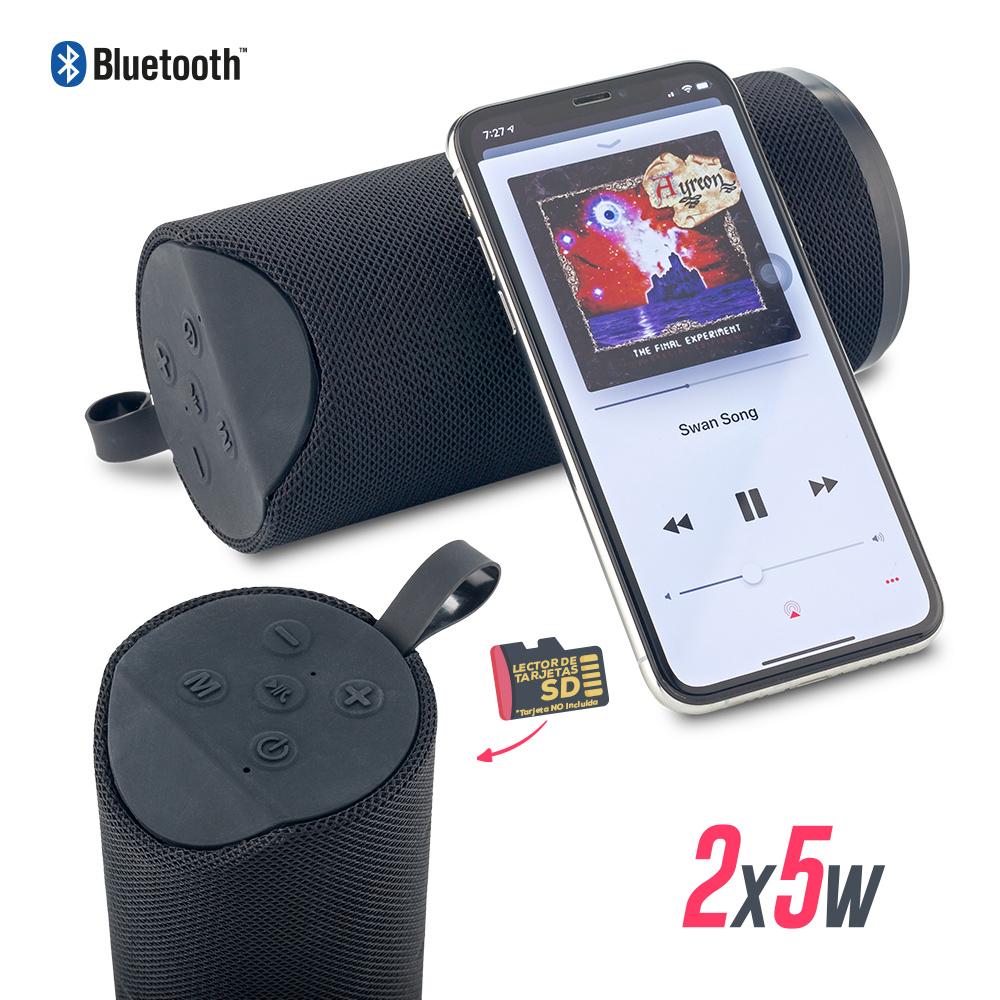Speaker Bluetooth Cylinder II 2X5W NUEVO