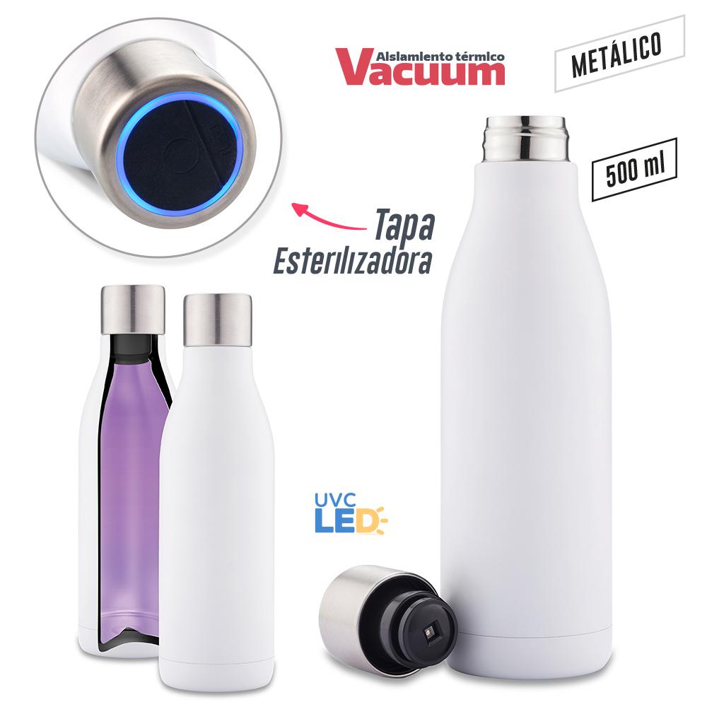 Botilito Metálico UV-C Clean 500ml PRECIO NETO NUEVO