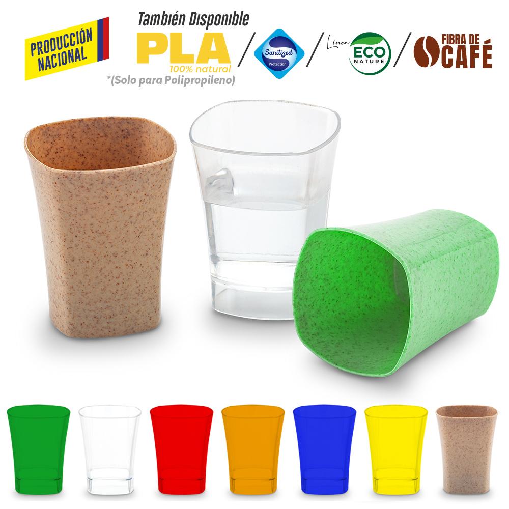 Copa Plástica Party 1oz - Produccion Nacional NUEVO