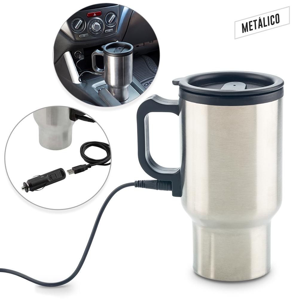 Mug Metálico Warmer 450ml NUEVO