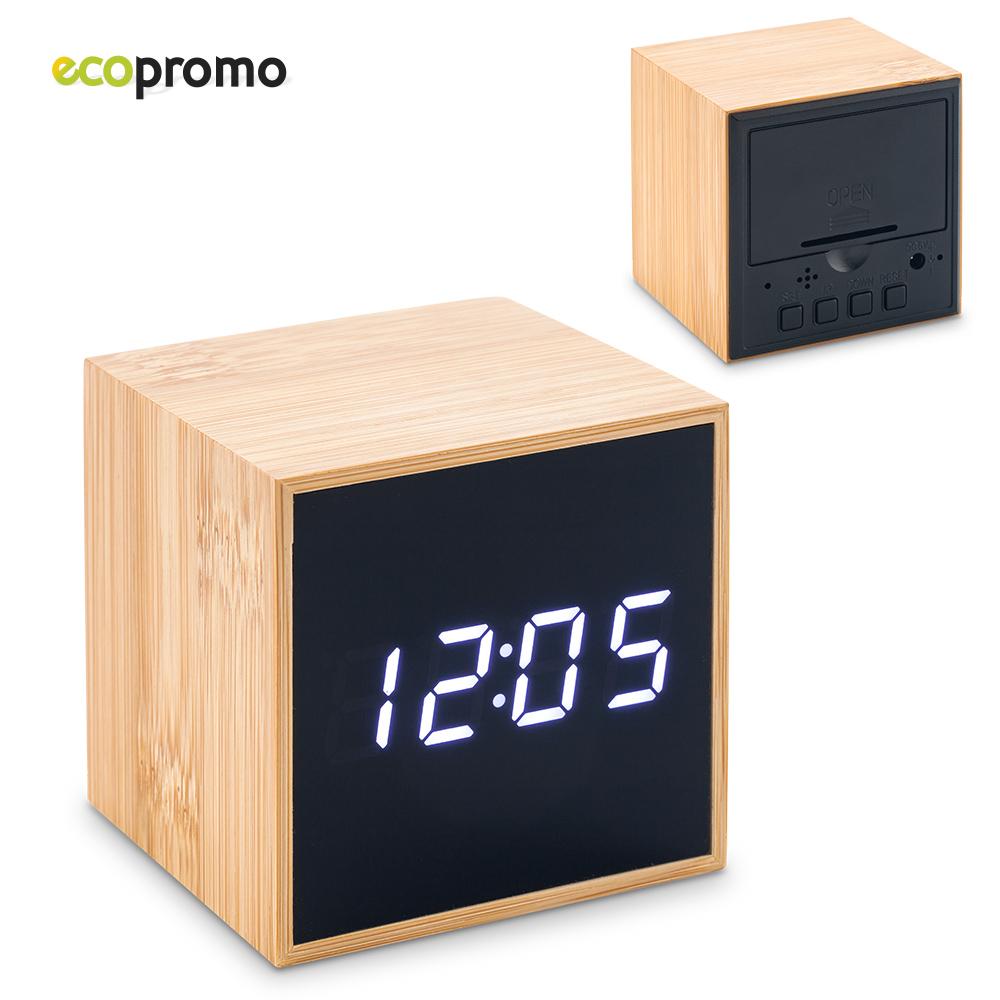 Reloj LCD Bamboo NUEVO