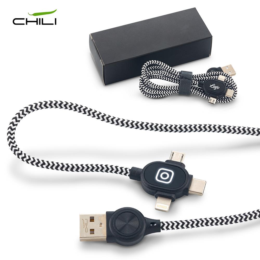 Cable Multicargador Light Chili NUEVO