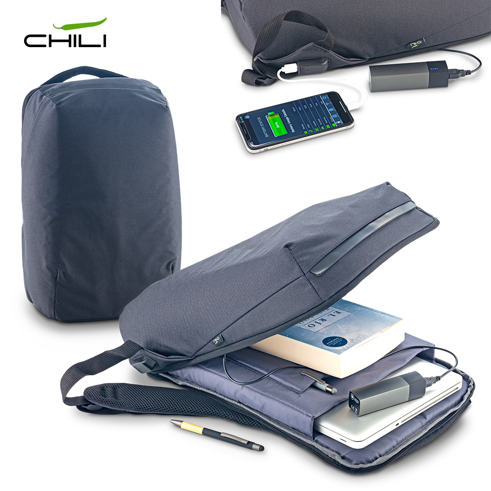 Morral Backpack Antirrobo Chili NUEVO