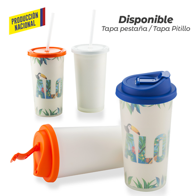 Vaso Doble Pared de Seguridad 450ml - Prod Nacional