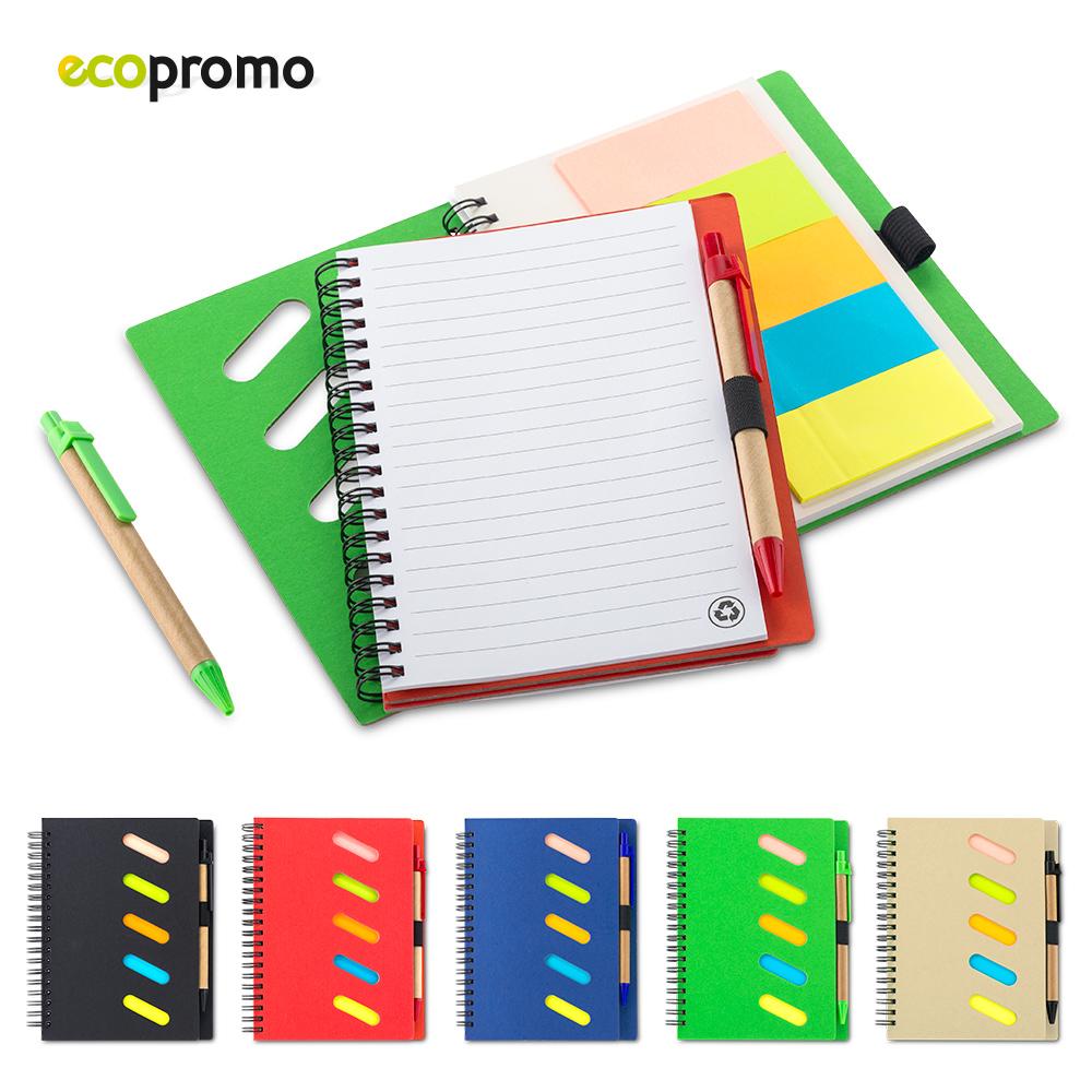 Libreta Gulliver Eco con bolígrafo