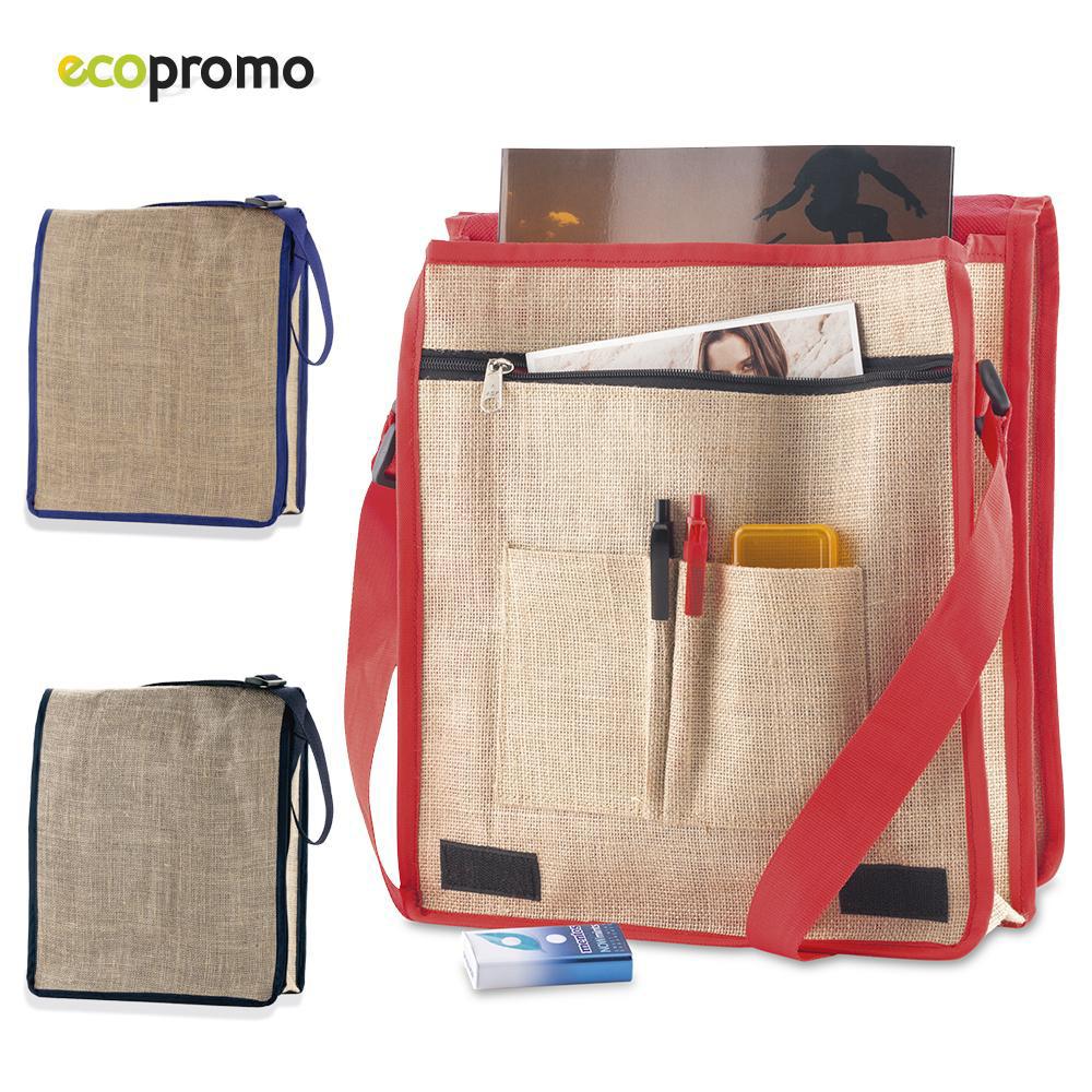 Messenger Bag en yute
