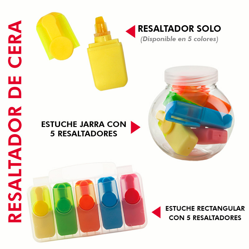 Mini resaltador de CERA (Ver OF-376E/OF-376J)