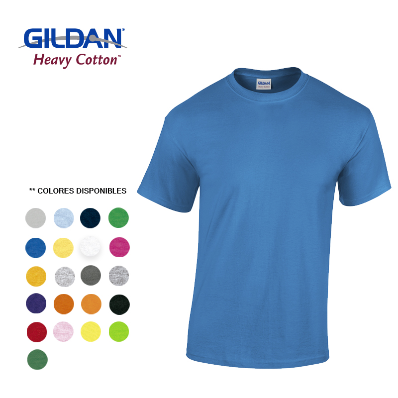 GILDAN CAMISETA T-SHIRT ADULTO TALLA XL