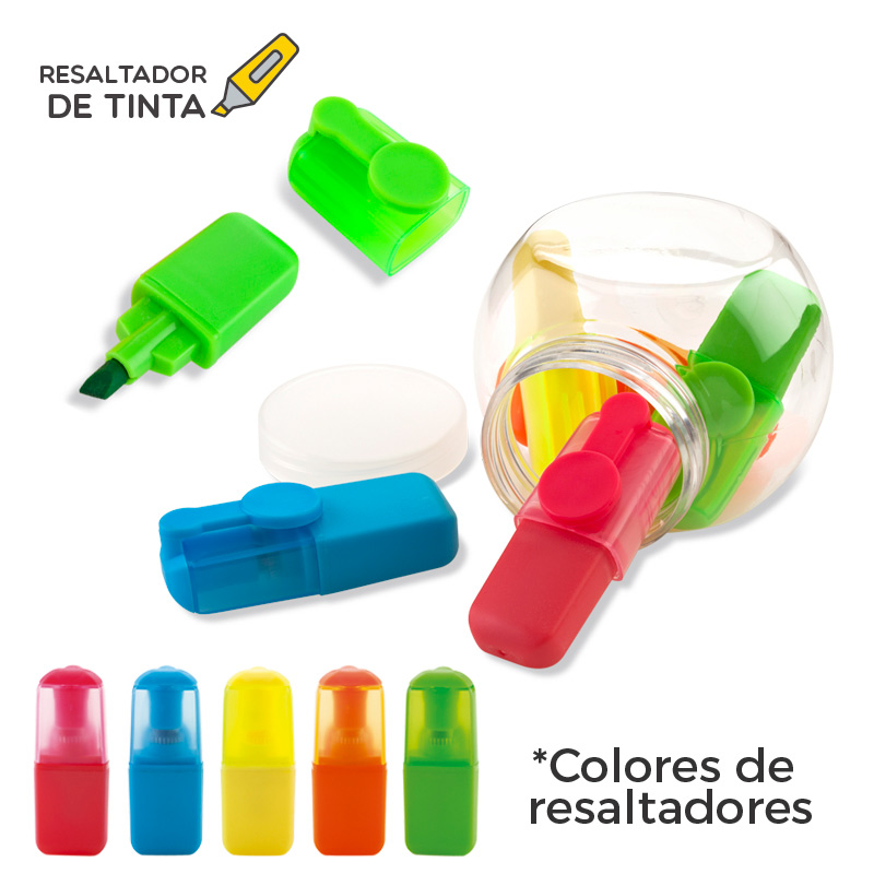 Set Mini Resaltador de Tinta