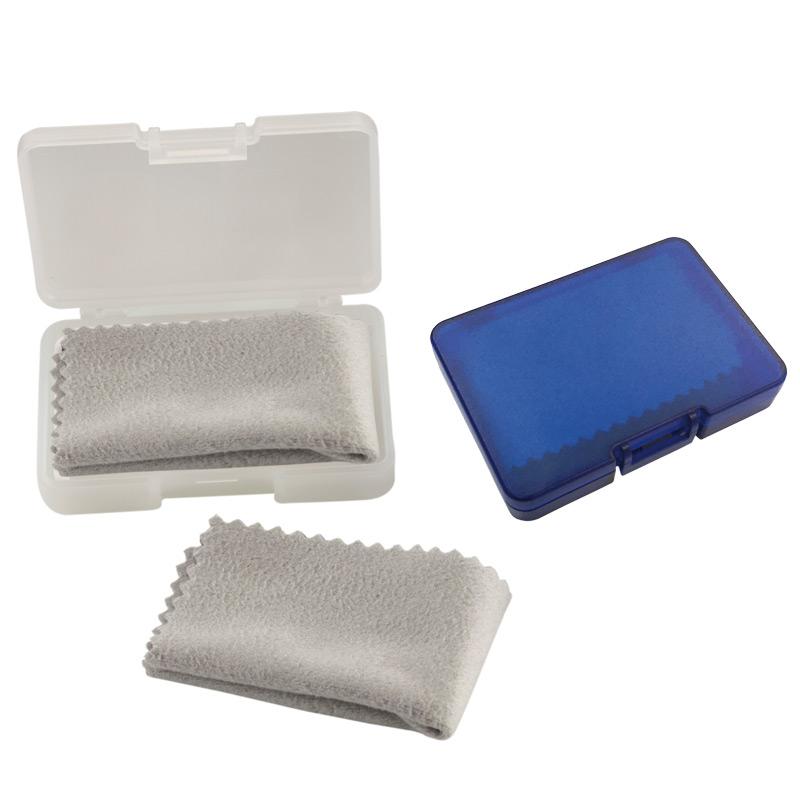 Estuche Plastico con Microfibra
