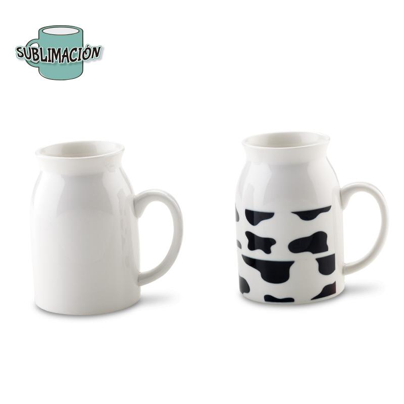 Mug en Porcelana Para Sublimacion Milk 10 oz-OFERTA
