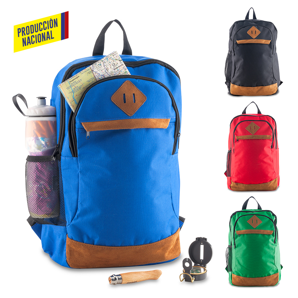Morral Backpack Retro - Produccion Nacional