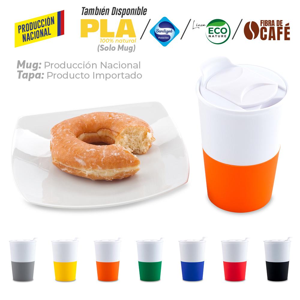 Mug Plástico Osiris 360ml - Produccion Nacional