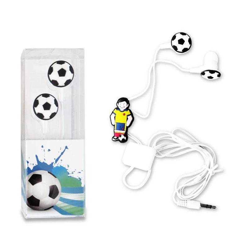 Audifonos PVC Soccer Player