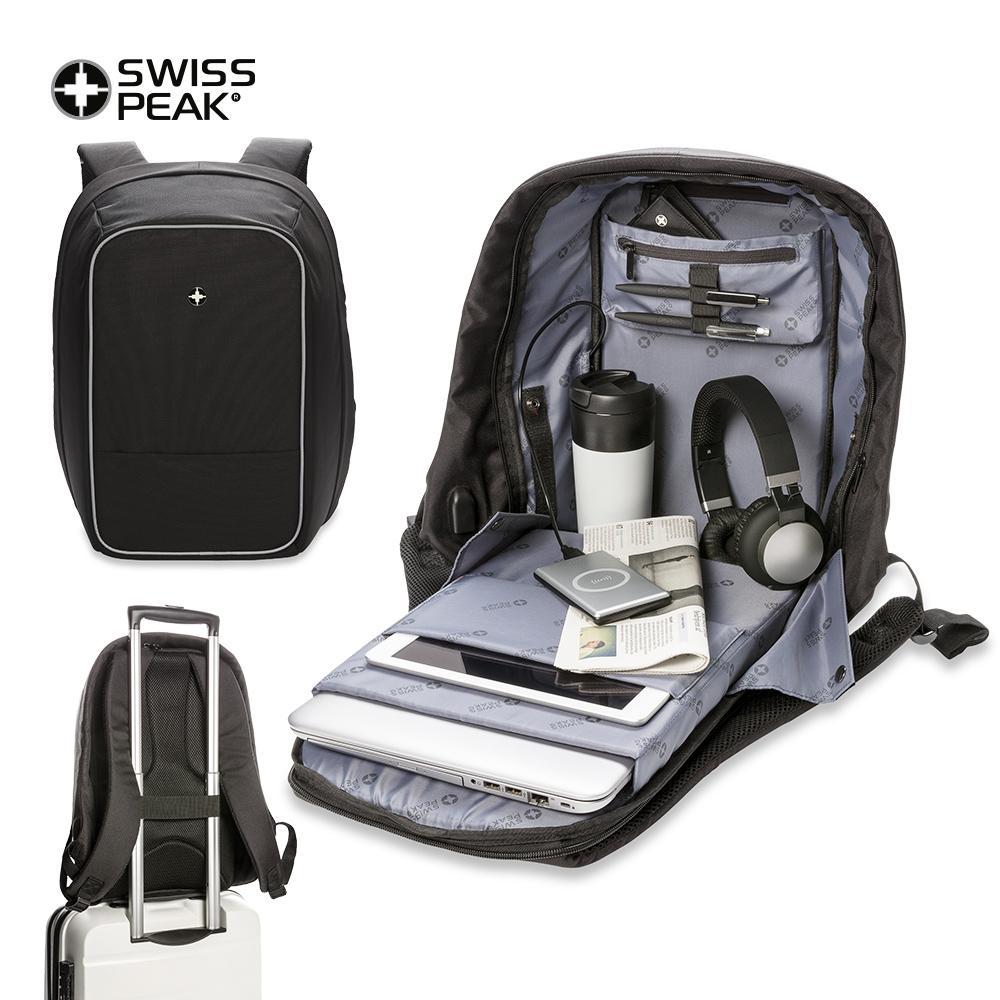 Morral Backpack Antirrobo Swisspeak