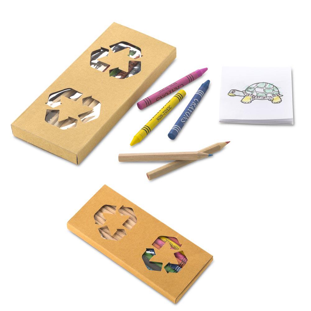 Set de Colores y Crayolas Gavino