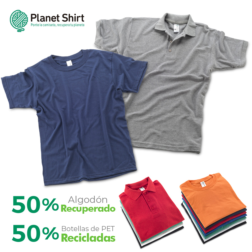 Camisetas Ecológicas Planet Shirt