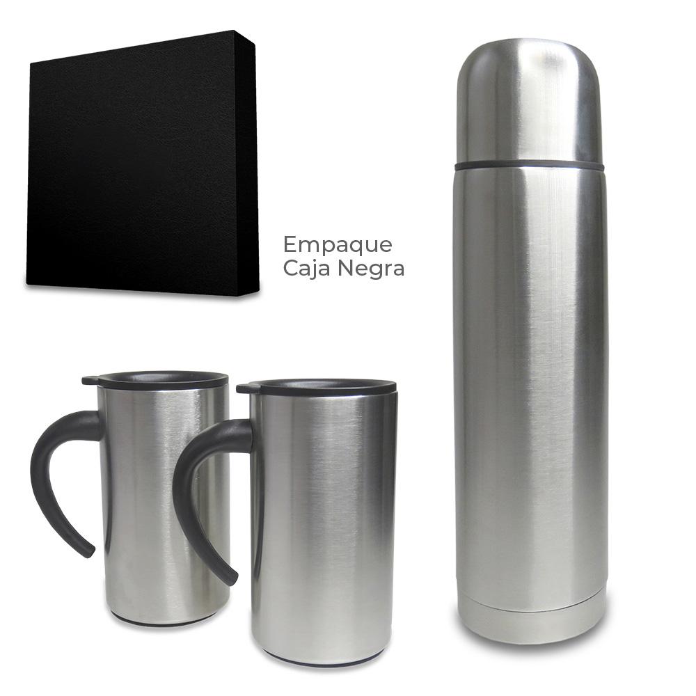 Set de Mugs con Termo Cascade