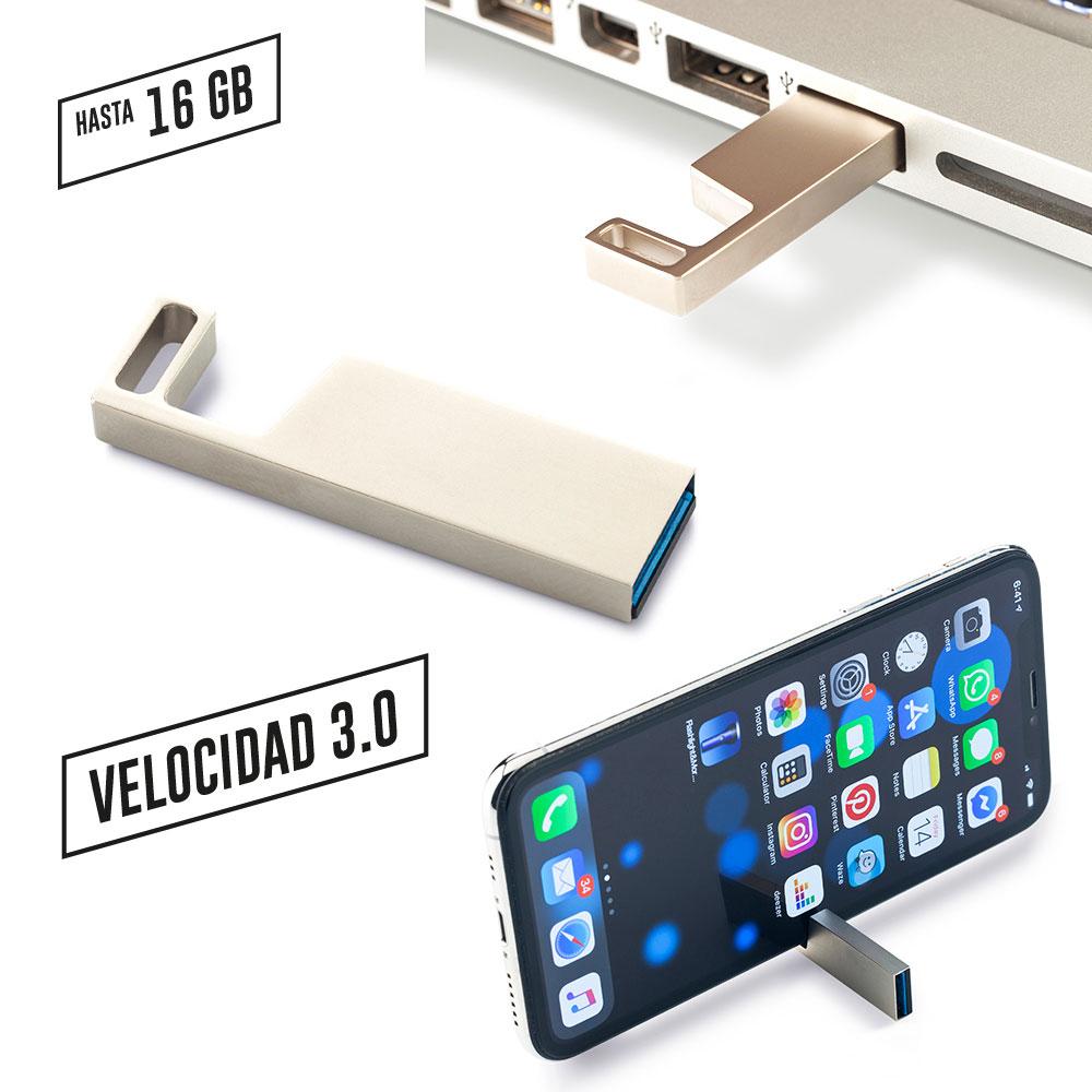Memoria USB Portacelular 3.0