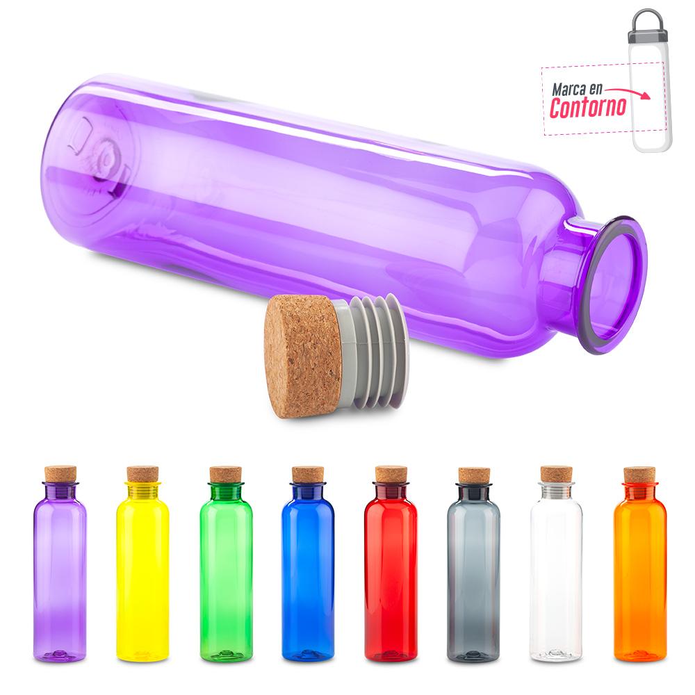 Botilito Plástico Cork 650ml