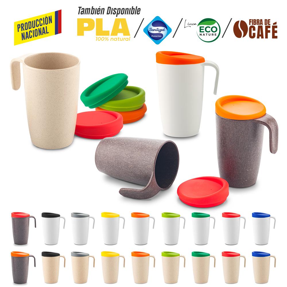 Mug Plastico Newport 480ml - Produccion Nacional