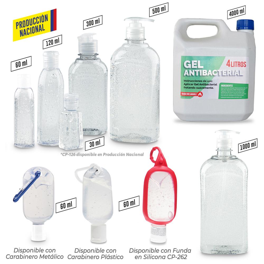 Gel Antibacterial Transparente-Producción Nacional NUEVO PRECIO NETO