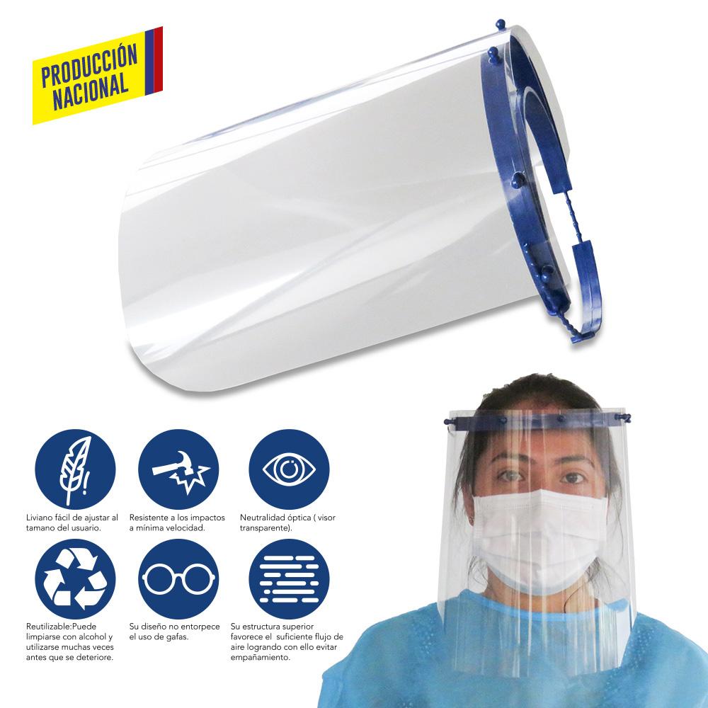 Careta de Protección Facial Profesional-Produccion Nacional NUEVO PRECIO NETO