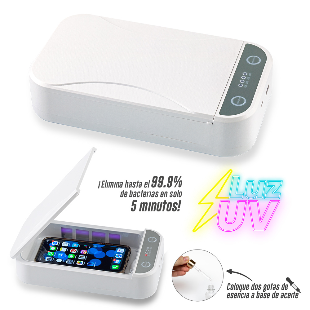 Esterilizador con Luz UV Smart NUEVO PRECIO NETO