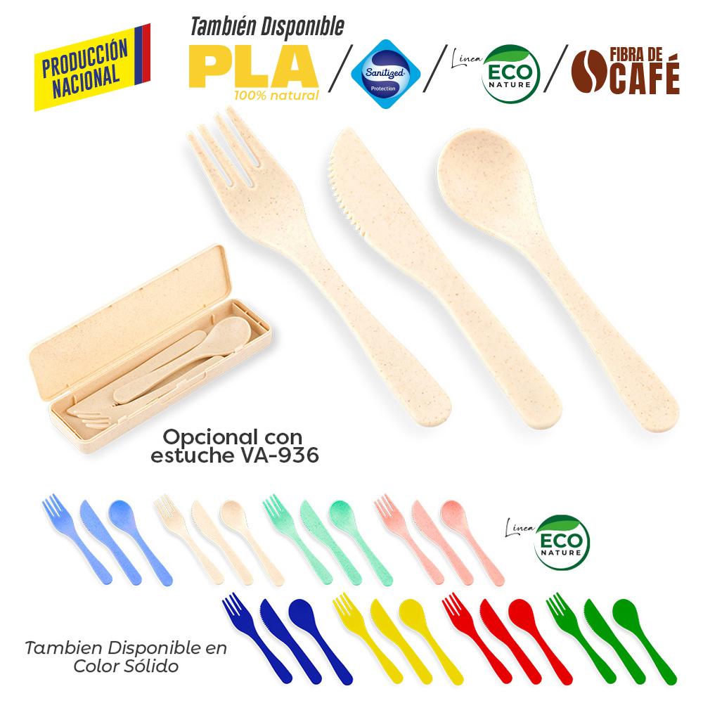 Set de Cubiertos Lunch-Produccion Nacional