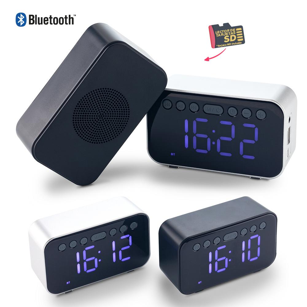 Speaker Bluetooth con Reloj NUEVO